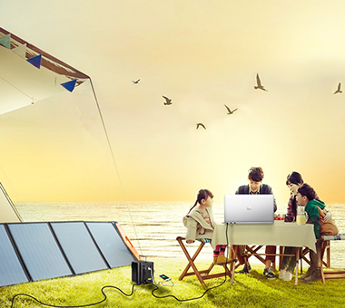 Sungold Solar Charger Enables Outdoor Life