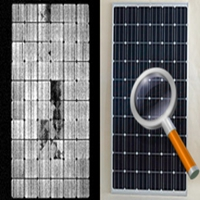 What is Sungold Solar Panel EL Test