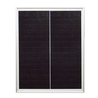 PERC shingled-cell solar panels
