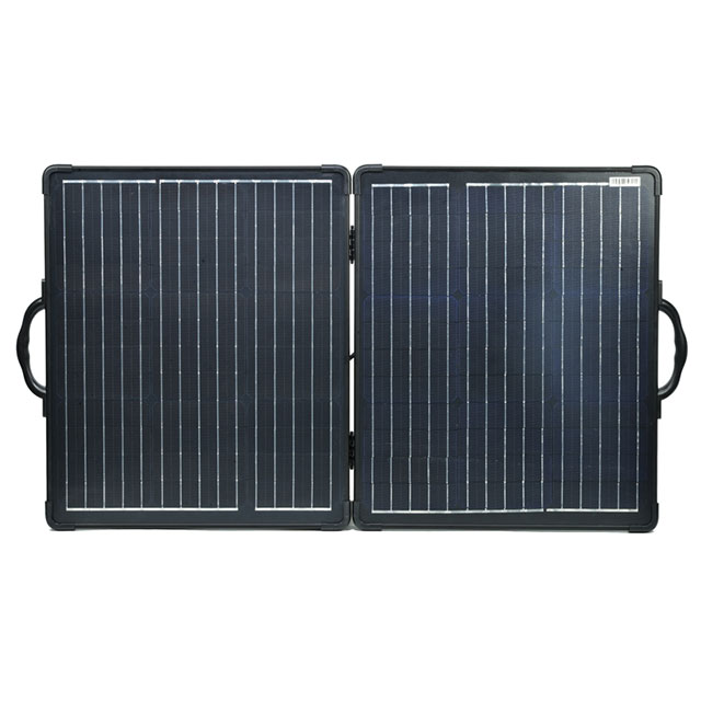 2018 100W Folding Portable Solar Charger Kits - Sungold Solar